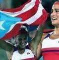 Monica Puig ganó el cariño y la admiración de los hispanos